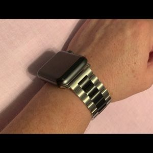 Apple Stainless steel watch band (42mm)